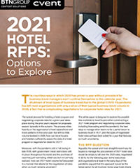 2021 Hotel RFPs: Options to Explore