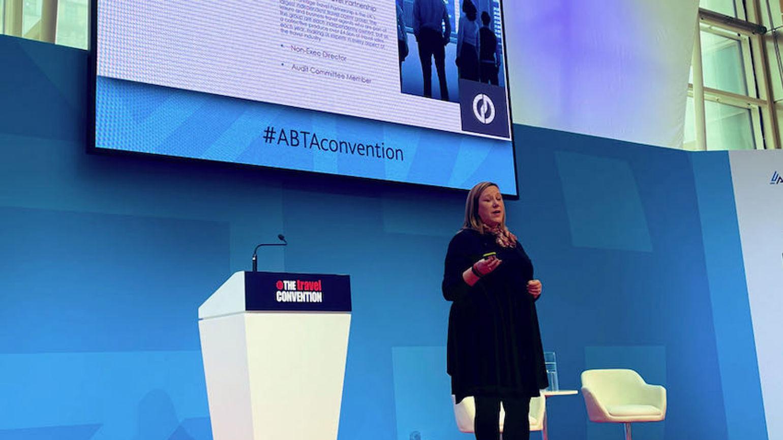 Suzanne Horner at ABTA Travel Convention