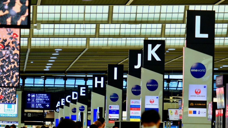 Airport during coronavirus