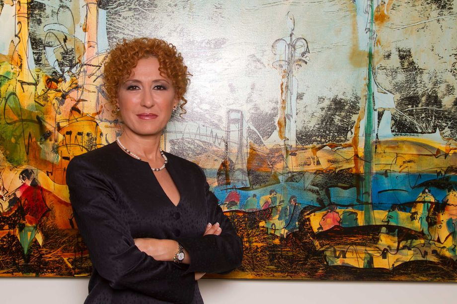 Handan Boyce, general manager of the Istanbul Convention and Exhibition Center