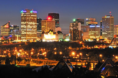 Edmonton night ext