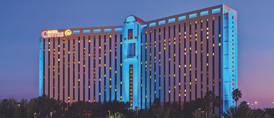 The 1,334-room Rosen Centre Hotel