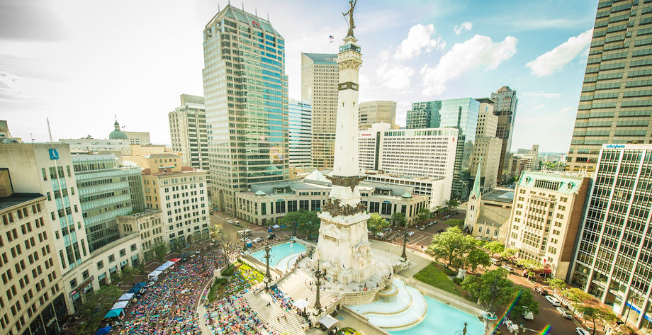 Indianapolis-Monument-Circle