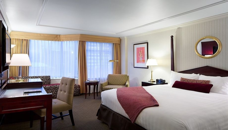 Rooms at The Listel Hotel feature biodegradable garbage bin liners and low-flow toilets.
