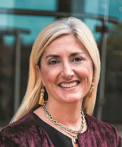 Amy Calvert, CEO of the Events Industry Council