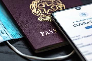 Covid Passport App Terrell Jones