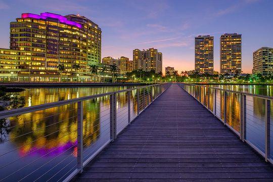 Palm Beaches lead