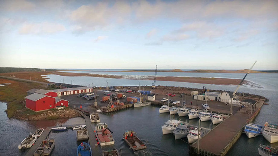 Charlottetown, Prince Edward Island, has a vibrant seafood industry, with shellfish growers such as Atlantic Aqua Farms.