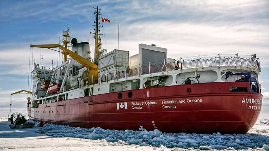 The Canadian research icebreaker, CCGS Amundsen, with its home port in Québec City, is helping to revitalize Canadian Arctic science.