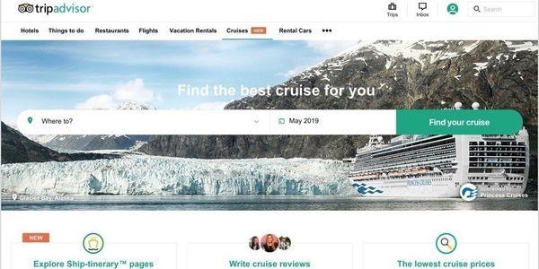TripAdvisor new cruise review price comparison site2