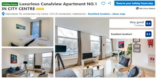 Booking.com pledges semi-neutral role in private accommodation distribution