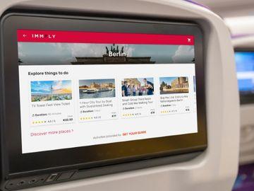 GetYourGuide lands aviation's first in-flight destination activities booking deal