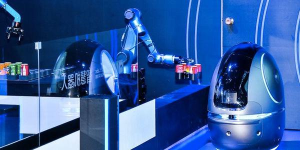Alibaba hotel robot