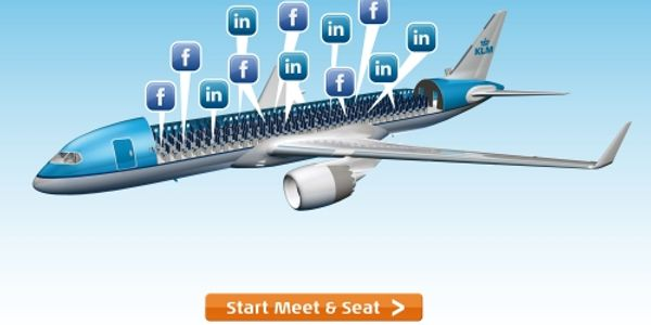 KLM unveils Meet and Seat allowing passengers to choose their travelling companion