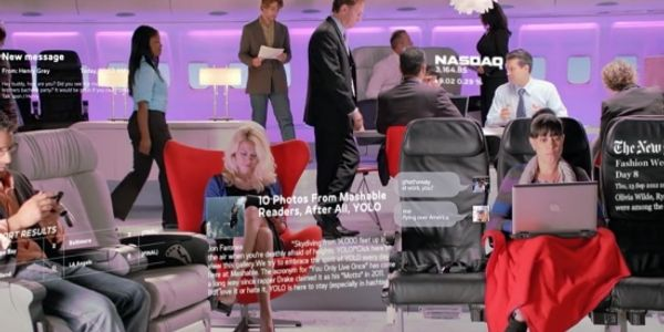 Virgin America shows off cabin experience via frequent fliers and interactive video