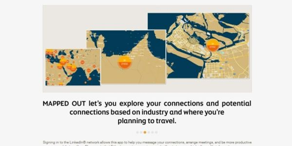 Etihad teams with LinkedIn for online mapping tool