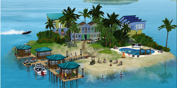 Just for fun: EA unwraps Sims travel game