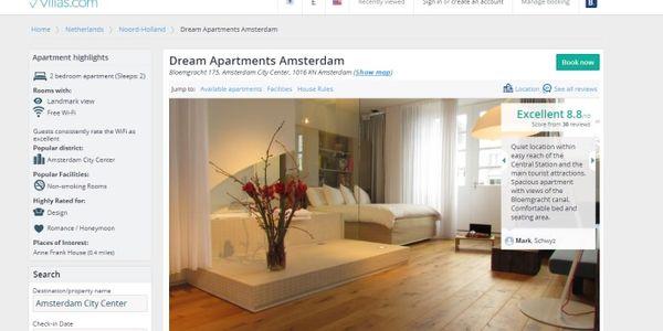 Booking.com quietly closes Villas.com rental brand