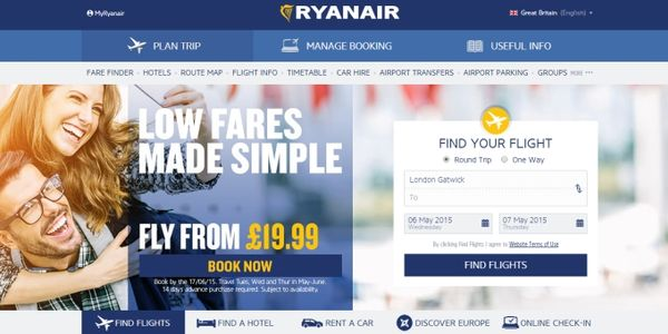 Ryanair completes distribution hat-trick with Sabre agreement
