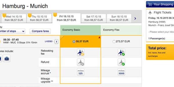 Unbundling its airfares, Lufthansa goads IAG and Air France-KLM