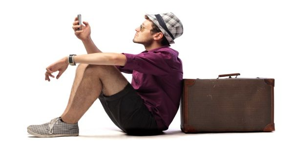 Using mobile devices for travel still looks like a young person's game