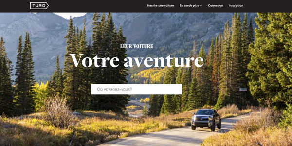 Turo, the peer-based car rental site, expands to Canada