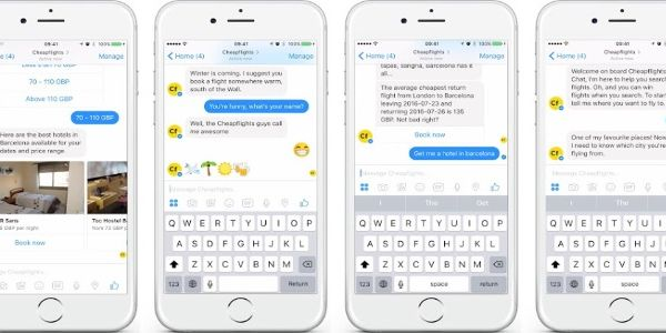 Cheapflights puts flight and hotel search into Facebook Messenger