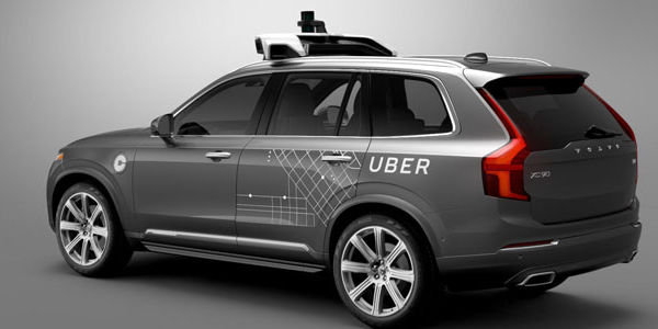 Uber to roll out driverless Volvo taxis