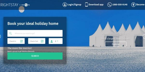 MakeMyTrip expands Indian business into Airbnb territory