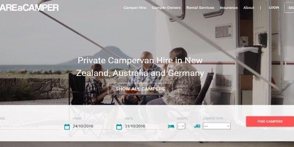 Startup pitch - ShareACamper sets up peer-to-peer platform for motorhome rentals