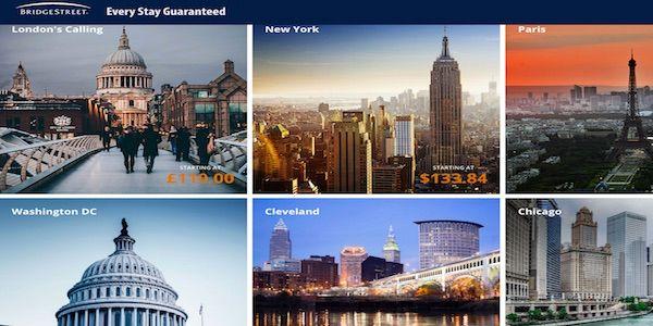 BridgeStreet unveils OTA for business travel community
