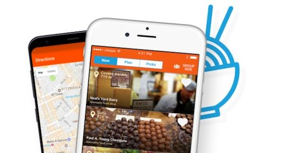 Startup pitch: Uptaste helps tourists to find places to eat nearby
