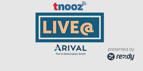 tnoozLIVE@Arival: Watch the livestream here
