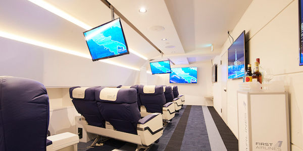 For 'First Airlines' passengers, the journey is the VR destination