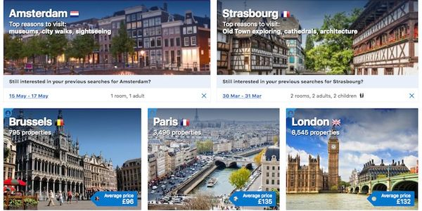 Booking Holdings on alternative stays, the name change and Airbnb