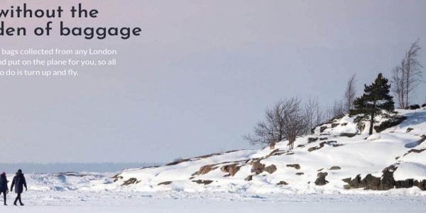 Finnair's new AirPortr baggage pre-check service meets NEXTT principles