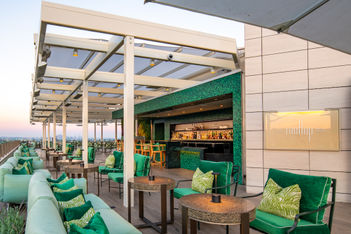 Rooftop by JG Waldorf Astoria Beverly Hills Renovated