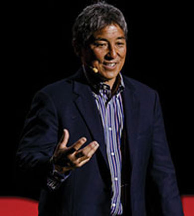 Marketer and Apple evangelist Guy Kawasaki spoke at the Synergy Global Forum