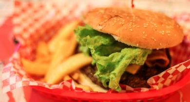 fast food burger - 370
