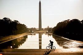 Washington Monument memorable backdrop