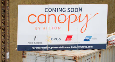 Canopy by Hilton Bethesda - Topping Out