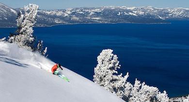 Lake Tahoe - Skiing