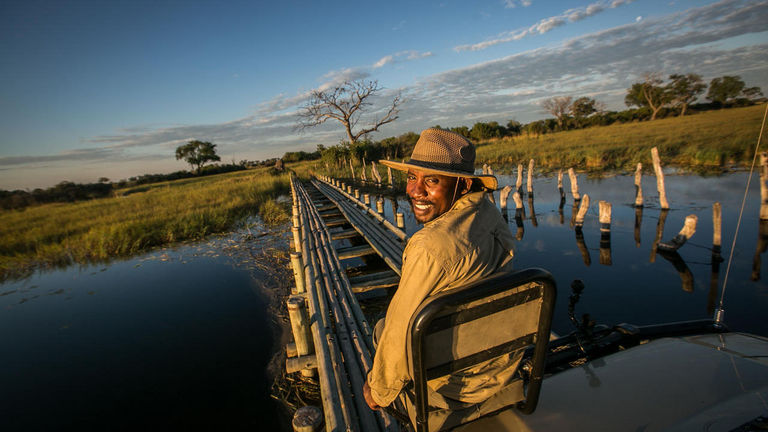 Langa is one of the company's wildlife trackers.