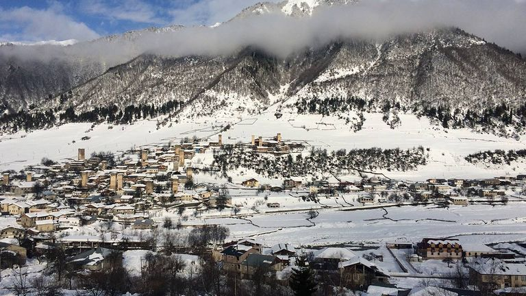 The region's plan is to eventually connect the valley's villages via a network of lifts and ski tracks.