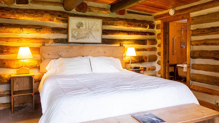 The on-site lodge dates to the 1800s and offers 17 guestrooms.
