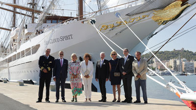 Sea Cloud Spirit Is Christened, Sets Sail on Maiden Voyage