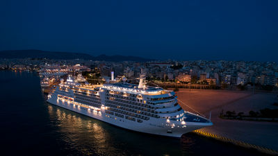 Silversea Officially Welcomes Silver Moon to Its Fleet
