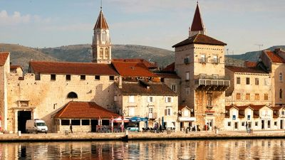 The historic town of Trogir, near Split, offers a beautiful old town and a slower pace. // © 2016 iStock 2