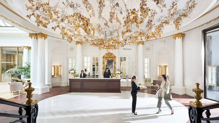 Mandarin Oriental Ritz, Madrid is in a Belle Epoque building formerly home to The Ritz, which opened its doors in 1910.