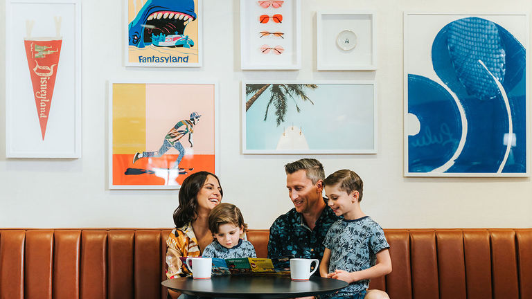 Hotel Lulu is an affordable, family-friendly option just a short distance from the park.